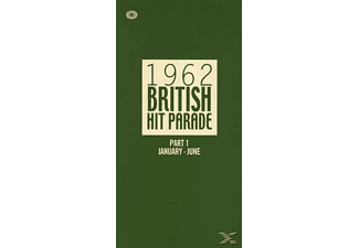 VARIOUS - 1962 British Hit Parade Pt.1 (Jan-June) - (CD)