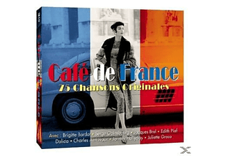 VARIOUS - Cafe De France - (CD)
