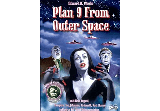 PLAN 9 FROM OUTER SPACE - (DVD)