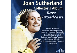 Joan Sutherland, Dennis Brain, Rso Köln, Liverpool Po, Ferdinand Leitner, Alberto Erede, John Pritchard, Capella Coloniensis, The Goldsborough Orchestra - Collectors Album/Rare Broadcasts - (CD)