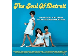 VARIOUS - The Soul Of Detroit - (CD)