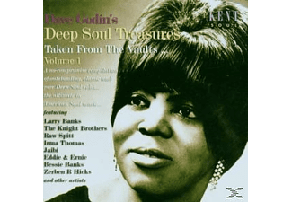 VARIOUS - Dave Godin's Deep Soul Treasures 1 - (CD)