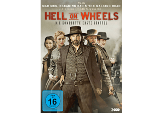 Hell On Wheels - Staffel 1 - (DVD)