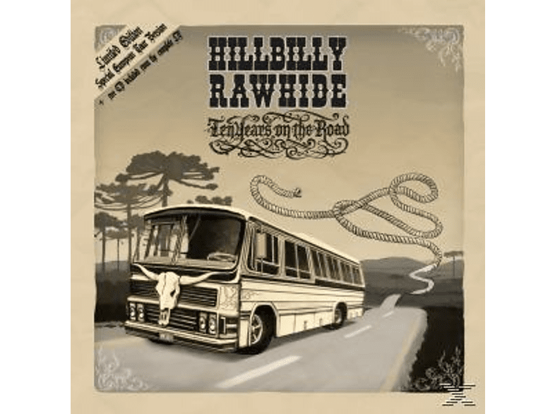 Hillabilly Rawhide - 10 Years On The Road [LP + Bonus-CD]