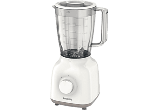PHILIPS Standmixer HR2100/00 Daily weiß/grau