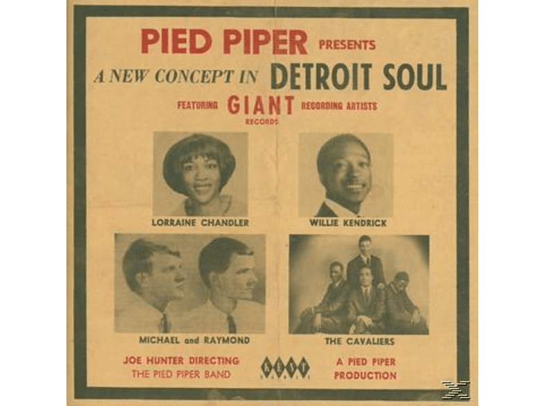 VARIOUS - Pied Piper Presents A New Concept In Detroit Soul [CD]