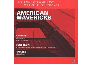 San Francisco Symphony, Jeremy Denk, Paul Jacobs, Michael Tilson Thomas - American Mavericks - (SACD Hybrid)