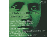 Anna Zassimova, Kyrill Rybakov - Declaration of Love [CD]