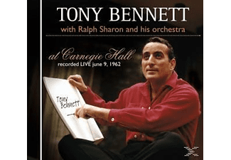 Tony Bennett, Ralph Sharon And His Orchestra - At Carnegie Hall - (CD)