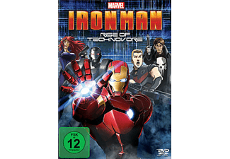 Iron Man - Rise Of Technovore - (DVD)