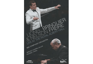 Nelson Freire, BBC Symphony Orchestra, Lionel Bringuier - Live At The Royal Albert Hall - (DVD)