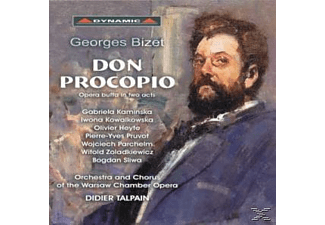 Orchestra And Chorus Of The Warsaw Chamber Opera, VARIOUS - Don Procopio - (CD)