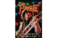 Play Page - Learn To Play Jimmy Page Way With Max Milligan [DVD]