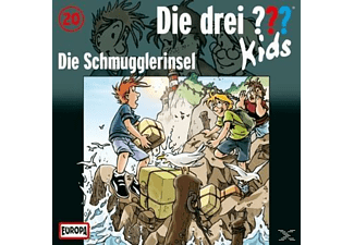 SONY MUSIC ENTERTAINMENT (GER) Die drei ??? Kids 20: Die Schmugglerinsel
