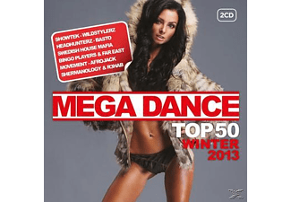 VARIOUS - Mega Dance Top 50 Winter 2013 - (CD)