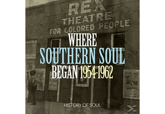 VARIOUS - Where Southern Soul Began 1954-1962 - (CD)