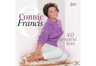 Connie Francis - 40 Greatest Hits - (Vinyl)