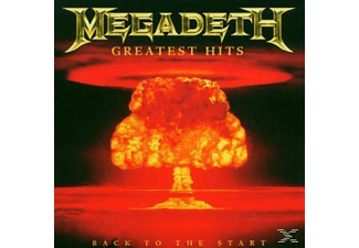 Megadeth - GREATEST HITS - BACK TO THE START - (CD)