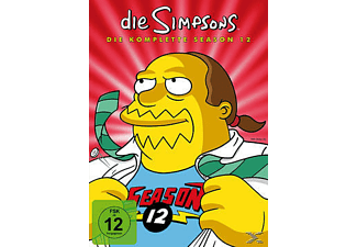 Die Simpsons - Staffel 12 - (DVD)