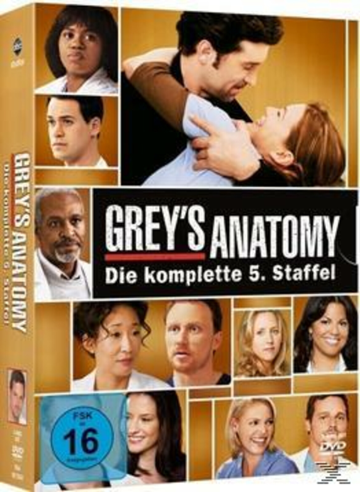 Grey\'s Anatomy - Staffel 5 - (DVD) | eBay