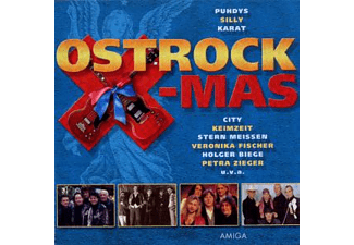 VARIOUS - OST-ROCK X-MAS (CHRISTMAS HITS MADE IN GDR) - (CD)
