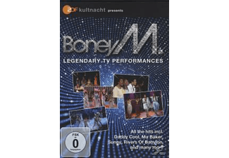 Boney M. - ZDF KULTNACHT PRESENTS - BONEY M.-LEGENDARY TV SH - (DVD)