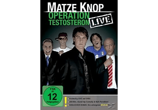 Matze Knop - Operation Testosteron - LIVE - (DVD)