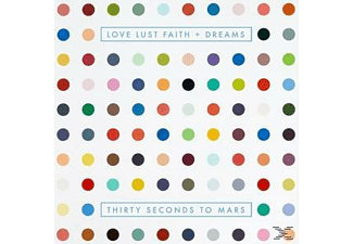 30 Seconds To Mars LOVE LUST FAITH Rock CD