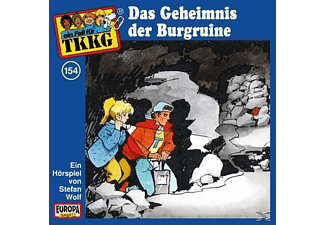 SONY MUSIC ENTERTAINMENT (GER) TKKG 154: Das Geheimnis der Burgruine