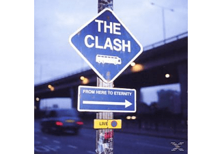 The Clash - From Here To Eternity - (CD)