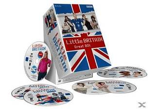 Little Britain - Great Box - Staffel 1-3 + Abroad + Live - (DVD)
