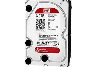 "WD Red 3,5"" SATA III 6Gbit/s IntelliPower 3 TB 64MB Cache NAS 7/24 WD30EFRX"