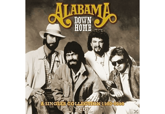Alabama - Down Home - A Singles Collection 1980-1993 (CD)