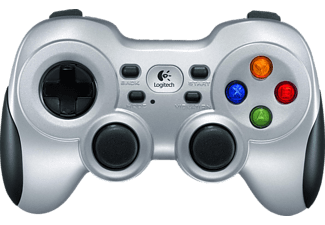 LOGITECH F710 Wireless Gamepad, Silber