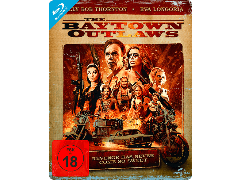 The Baytown Outlaws (Steelbook Edition) [Blu-ray]