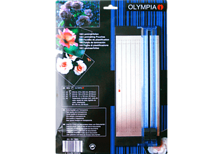 OLYMPIA 3083 2-in-1 Set Laminierfolien und Trimmer