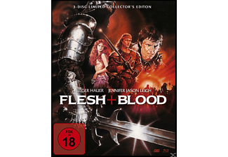 Flesh + Blood (Mediabook) - (Blu-ray + DVD)
