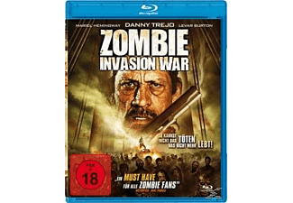 ZOMBIE INVASION WAR - (Blu-ray)