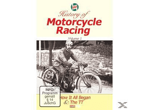 History Of Motorcycle Racing Vol.1 - (DVD)