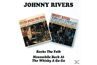 Johnny Rivers - Rocks The Folk / Meanwhile Back At The Whisky A Gogo [CD]