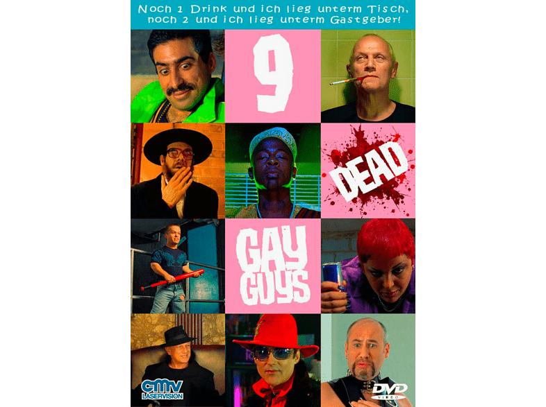 9 DEAD GAY GUYS (OMU) [DVD]