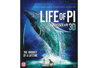 Life of Pi 3D + 2D Blu-ray