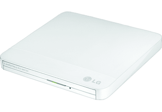 LG GP50NW40 - Portable Slim DVD-Brenner, Portable Slim, extern, Weiß