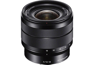 SONY E 10-18mm f/4.0 OSS Zwart