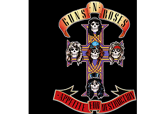 Guns N' Roses - Appetite For Destruction (CD)
