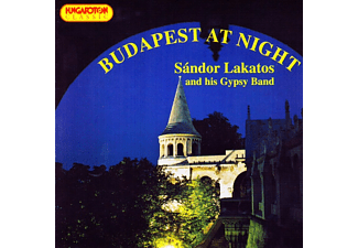 Sándor Lakatos And His Gypsy Band - Budapest at Night (CD)