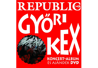 Republic - Győri kex (CD + DVD)