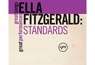 Ella Fitzgerald - Standards - Great Songs - Great (CD)
