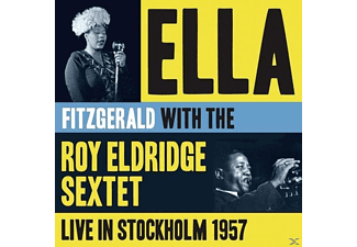 Ella Fitzgerald, Roy Eldridge Sixtet - Live In Stockholm 1957 - (CD)