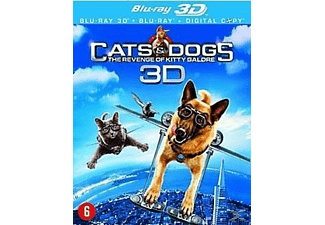 Cats & Dogs: De Wraak Van Kitty Galore 3D | 3D Blu-ray